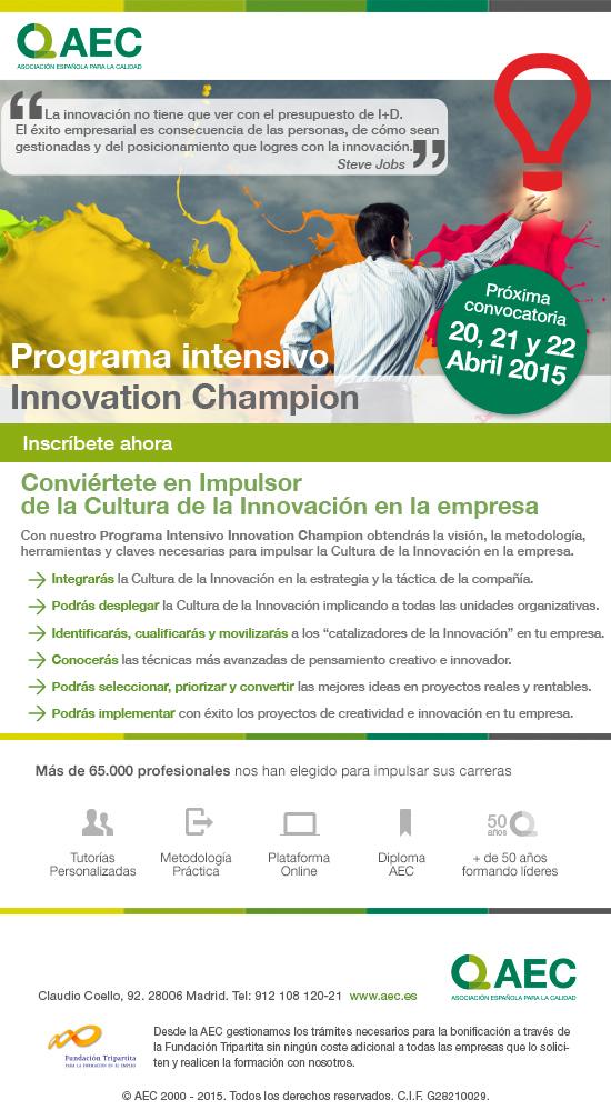 Innovation Champion: el Impulsor de la Cultura de la Innovación en la Empresa