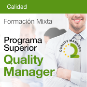 Programa Superior Quality Manager