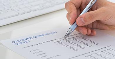 Medición de la satisfacción del cliente según ISO 9001