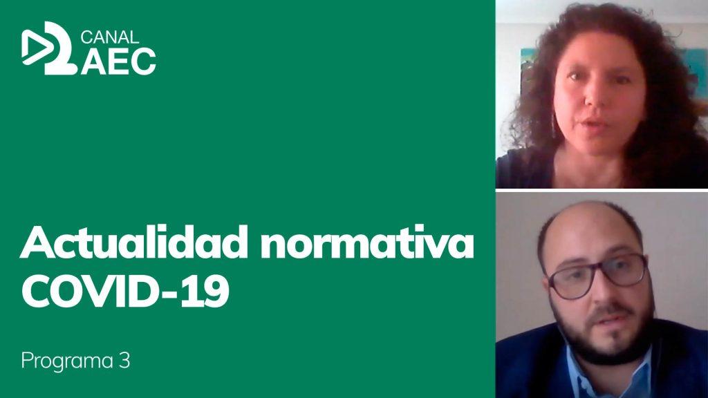 Caratula Actualidad normativa COVID-19