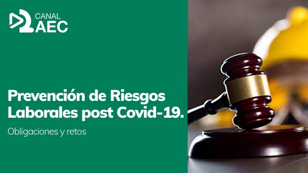 Prevención de riesgos laborales y COVID19