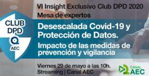 IV Insight Club DPD Desescalada COVID19